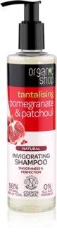 Organic Shop Natural Pomegranate & Patchouli champô refrescante com efeito hidratante