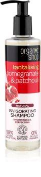 Organic Shop Natural Pomegranate & Patchouli shampoing rafraîchissant pour un effet naturel