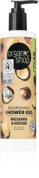 Organic Shop Organic Macadamia & Avocado gel doccia nutriente