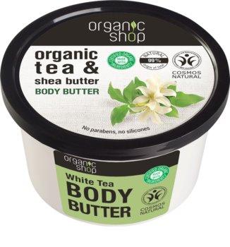 Organic Shop Organic Tea & Shea Butter burro corpo idratante intenso