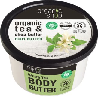 Organic Shop Organic Tea & Shea Butter Intense Moisture Body Butter