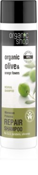 Organic Shop Organic Olive & Orange Flowers Restoring Shampoo