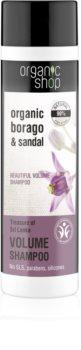 Organic Shop Organic Borago & Sandal shampoing volumisant