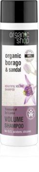 Organic Shop Organic Borago & Sandal shampoo volumizzante