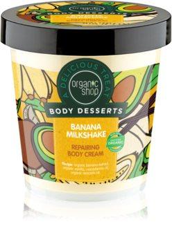 Organic Shop Body Desserts Banana Milkshake Regenerating Body Cream