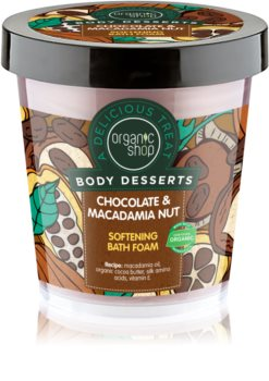 Organic Shop Body Desserts Chocolate & Macademia Nut