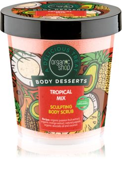 Organic Shop Body Desserts Tropical Mix scrub dimagrante corpo