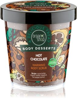 Organic Shop Body Desserts Hot Chocolate esfoliante corporal nutritivo