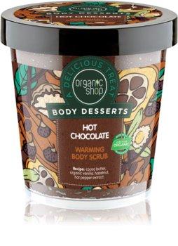 Organic Shop Body Desserts Hot Chocolate vyživujúci telový peeling