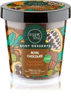 Organic Shop Body Desserts Royal Chocolate soufflé corpo nutriente