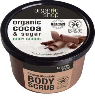 Organic Shop Body Scrub Cocoa & Sugar telový peeling