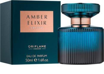 Oriflame Amber Elixir Crystal Parfumovaná voda pre ženy 50 ml