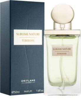 Oriflame Sublime Nature Tuberose parfum pour femme 50 ml
