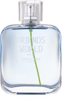 Oriflame Friends World eau de toilette pentru barbati 75 ml
