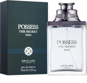 Oriflame Possess The Secret Man eau de parfum férfiaknak 75 ml
