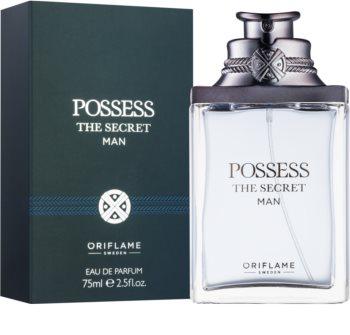 Oriflame Possess The Secret Man parfémovaná voda pro muže 75 ml
