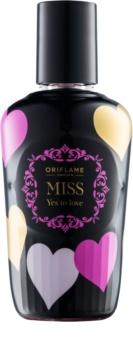 Oriflame Miss Yes To Love tělový sprej pro ženy 75 ml