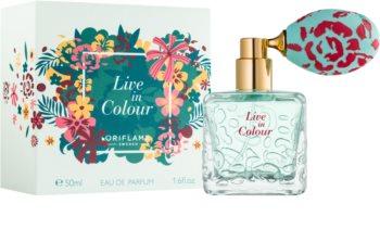 Oriflame Live in Colour eau de parfum pentru femei 50 ml