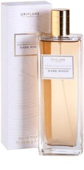 Oriflame Dark Wood Eau de Toillete για άνδρες 75 μλ