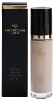 Oriflame Giordani Gold dlhotrvajúci minerálny make-up SPF 15