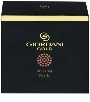 Oriflame Giordani Gold компактна пудра-бронзантор в кульках