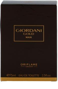 Oriflame Giordani Gold Man toaletná voda pre mužov 75 ml