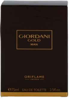Oriflame Giordani Gold Man toaletní voda pro muže 75 ml