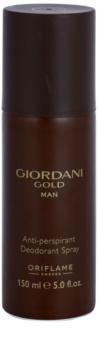 Oriflame Giordani Gold Man desodorante en spray para hombre 150 ml