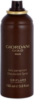 Oriflame Giordani Gold Man дезодорант-спрей для чоловіків 150 мл