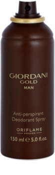 Oriflame Giordani Gold Man Deo-Spray für Herren 150 ml