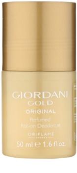 Oriflame Giordani Gold Original deodorante roll-on per donna 50 ml