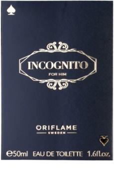 Oriflame Incognito eau de toilette pentru barbati 50 ml
