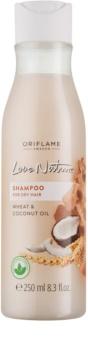 Oriflame Love Nature champú para cabello seco