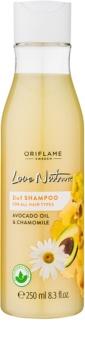 Oriflame Love Nature szampon do wszystkich rodzajów włosów