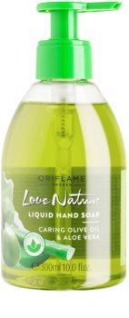 Oriflame Love Nature mydło do rąk w płynie