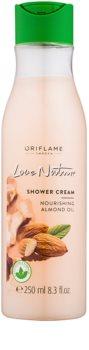 Oriflame Love Nature krem pod prysznic z olejkiem migdałowym