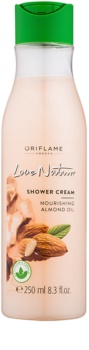 Oriflame Love Nature krema za prhanje z mandljevim oljem