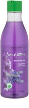 Oriflame Love Nature gel de ducha con olor a lavanda
