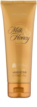 Oriflame Milk & Honey Gold peeling na ruce