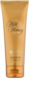 Oriflame Milk & Honey Gold peeling para mãos