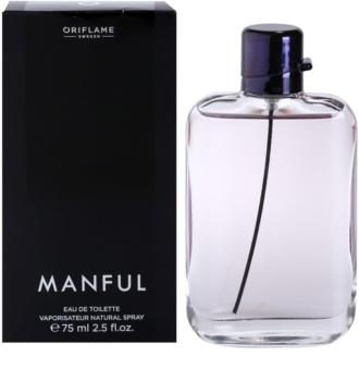 Oriflame Manful Eau de Toilette para homens 75 ml
