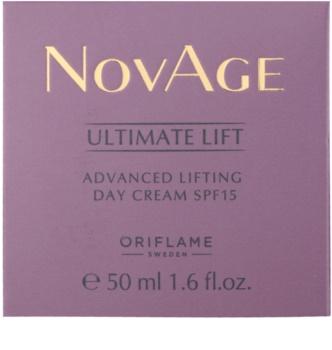 Oriflame Novage Ultimate Lift denní liftingový krém SPF 15