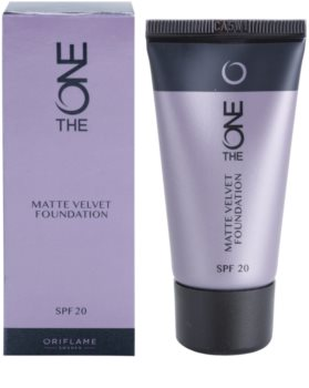 Oriflame The One Matte Velvet matující make-up SPF 20