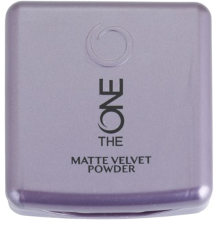 Oriflame The One Matte Velvet pudra matuire