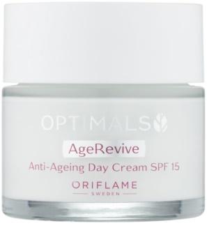 Oriflame Optimals crema de día  antiarrugas  SPF15