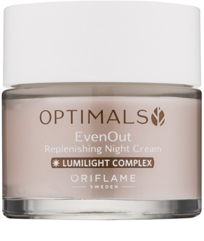 Oriflame Optimals crema de noche reparadora