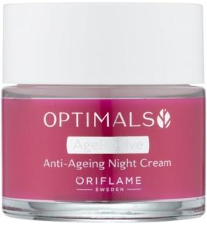 Oriflame Optimals noční protivráskový krém
