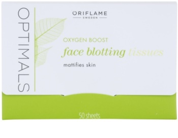 Oriflame Optimals Oxygen Boost Mattierende Tücher