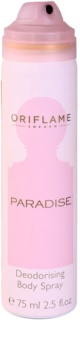 Oriflame Paradise Deo Spray voor Vrouwen  75 ml