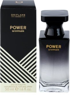 Oriflame Power Woman eau de toilette para mujer 50 ml